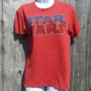 Red Star Wars Graphic T Shirt Fifth Sun Size Small